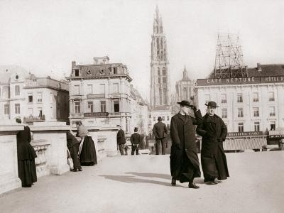 Priests, Antwerp, 1898-James Batkin-Photographic Print