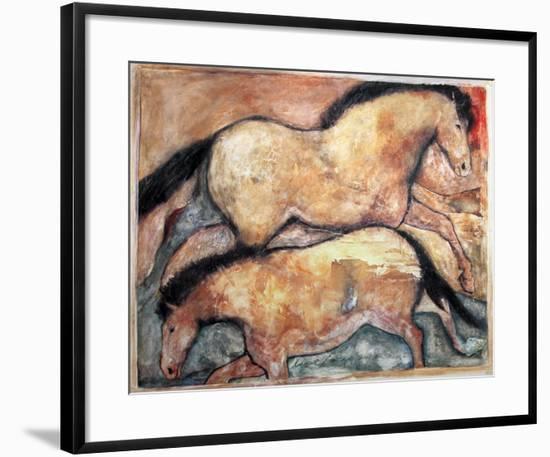 Primal Skin Crossing I-Carol Grigg-Framed Art Print