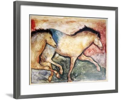 Primal Skin Crossing II-Carol Grigg-Framed Art Print