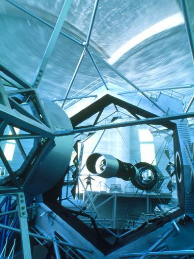 Primary Mirror of the Keck II Telescope, Hawaii-David Nunuk-Photographic Print