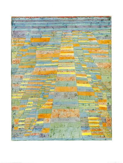 Primary Route and Bypasses, c.1929-Paul Klee-Art Print