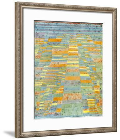 Primary Route and Bypasses, c.1929-Paul Klee-Framed Art Print