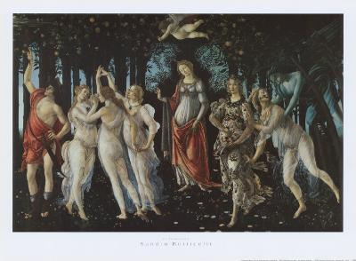 Primavera-Sandro Botticelli-Art Print