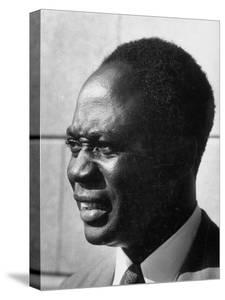 Prime Minister of Ghana Kwame Nkrumah Attending the Ghana Independence Ceremonies