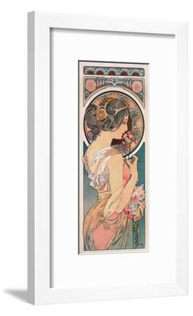 Primrose, 1899-Alphonse Mucha-Framed Giclee Print