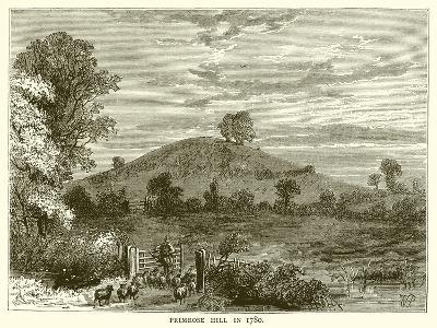 Primrose Hill in 1780--Giclee Print