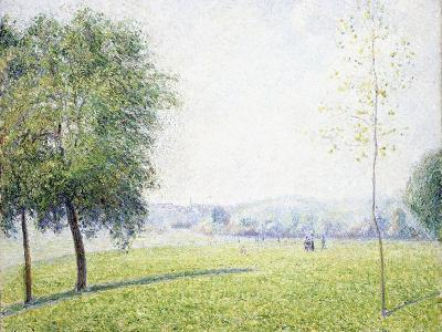 Primrose Hill, Regent's Park, 1892-Camille Pissarro-Giclee Print