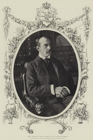 Prince Adolphus of Teck, Married to Lady Margaret Grosvenor--Giclee Print