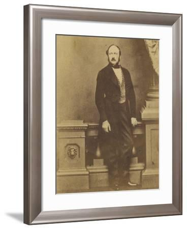 Prince Albert Consort to Queen Victoria- Mayall-Framed Photographic Print