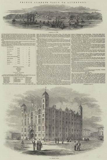 Prince Albert's Visit to Liverpool--Giclee Print