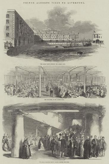 Prince Albert's Visit to Liverpool--Giclee Print