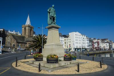 Prince Albert Statue, Saint Peter Port, Guernsey, Channel Islands, United Kingdom-Michael Runkel-Photographic Print