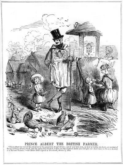 Prince Albert the British Farmer, 1843--Giclee Print