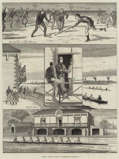 Prince Albert Victor at Cambridge University--Giclee Print