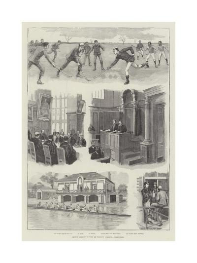 Prince Albert Victor at Trinity College, Cambridge--Giclee Print
