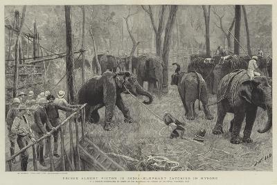 Prince Albert Victor in India-Joseph Nash-Giclee Print
