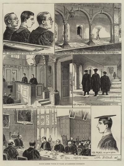 Prince Albert Victor of Wales at Cambridge University--Giclee Print