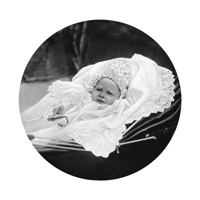 Prince Albert Windsor at Age One, C1896--Giclee Print