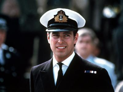 Prince Andrew in Naval Uniform Returns from Falklands 1982 at Portsmouth Docks on Hms Invincible--Photographic Print