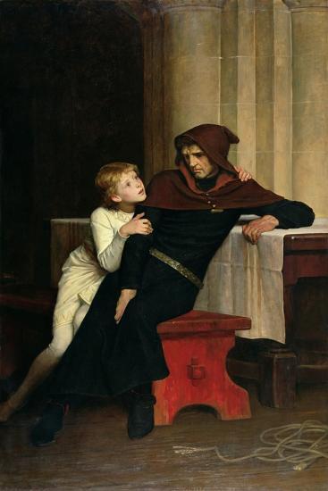 Prince Arthur and Prince Hubert, 1882-William Frederick Yeames-Giclee Print