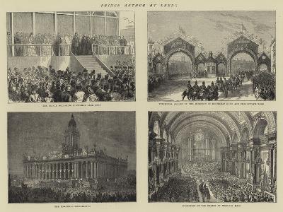 Prince Arthur at Leeds--Giclee Print
