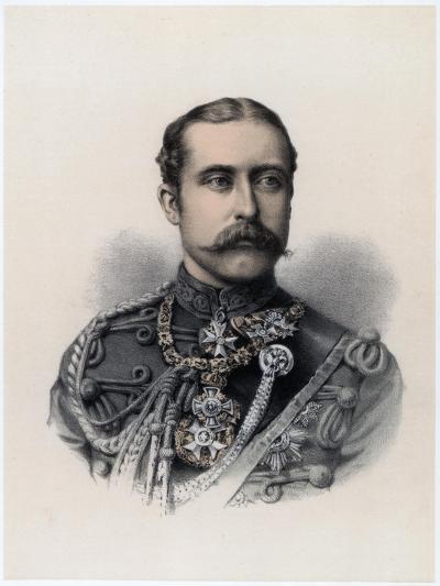 Prince Arthur, Duke of Connaught and Strathearn, 1879--Giclee Print