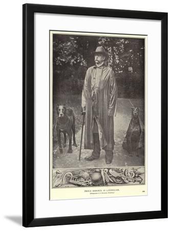 Prince Bismarck as Landholder--Framed Photographic Print