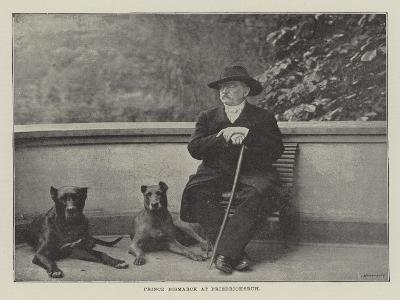 Prince Bismarck at Friedrichsruh--Giclee Print