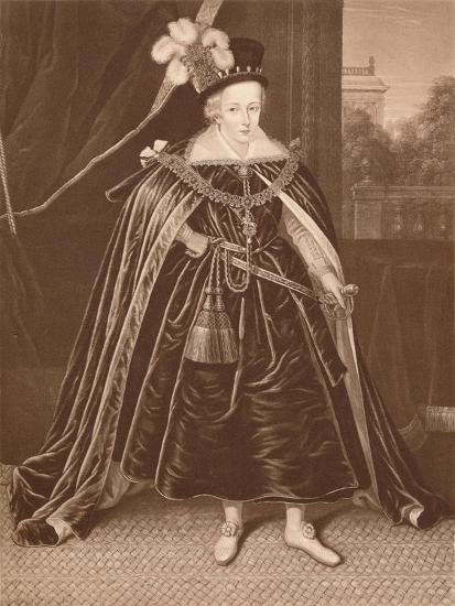 'Prince Charles', c17th century, (1904)-Unknown-Giclee Print