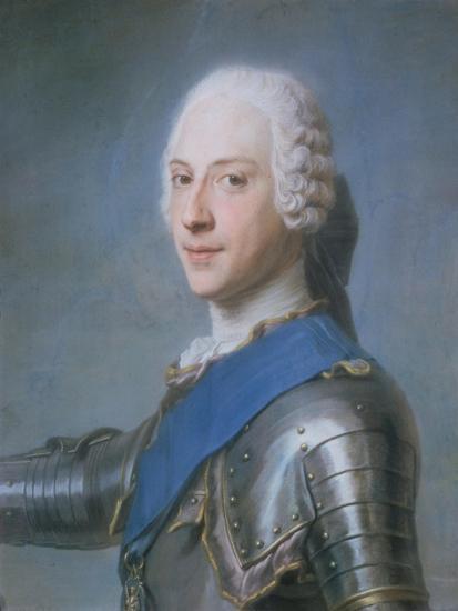 Prince Charles Edward Stewart, 1720-88-Maurice Quentin de La Tour-Giclee Print