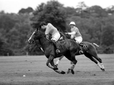 Prince Charles, Windsor Polo. June 1977