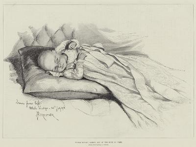 Prince Edward Albert, Son of the Duke of York-Amedee Forestier-Giclee Print