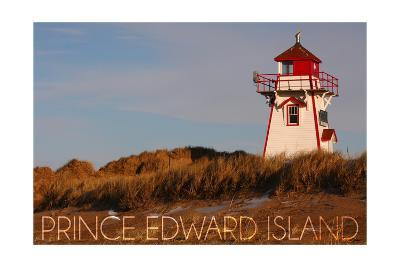 Prince Edward Island - Covehead Lighthouse-Lantern Press-Art Print