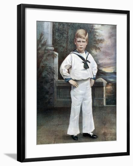 Prince Edward, Late 19th-Early 20th Century-Ralph Dersingham-Framed Giclee Print