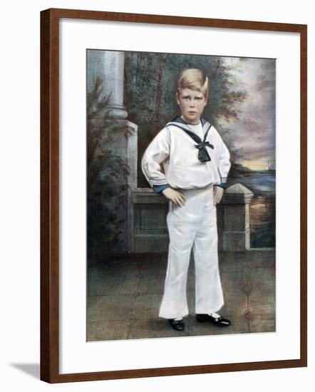 Prince Edward, Late 19th-Early 20th Century-Ralph Dersingham-Framed Giclee Print