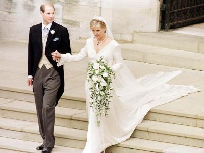 Prince Edward Royal Wedding to Sophie Rhys-Jones--Photographic Print