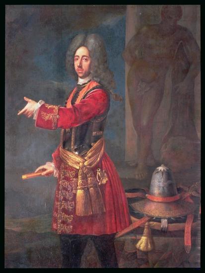 Prince Eugene of Savoy (1663-1736)--Giclee Print