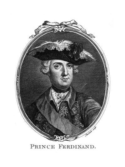 Prince Ferdinand, Duke of Brunswick- Sherlock-Giclee Print