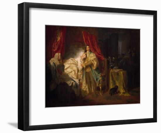 Prince Francis II Rakoczi Capturing Magisaros Castle, 1869-Gyula Benczur-Framed Giclee Print
