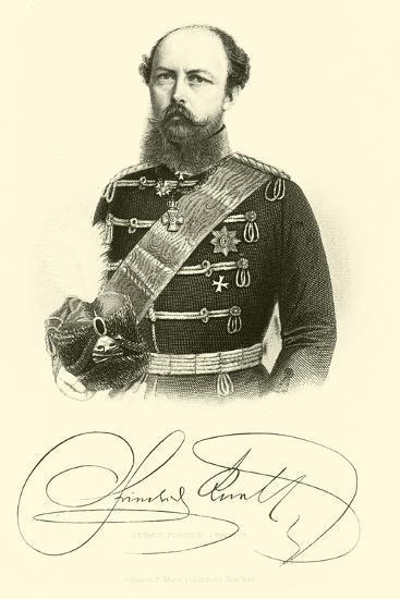 Prince Frederick Charles--Giclee Print