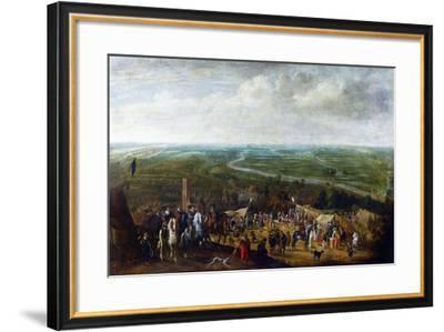 Prince Frederick Henry at the Siege of Hertogenbosch-Pauwels van Hillegaert-Framed Art Print