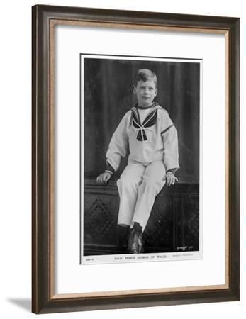Prince George of Wales, C1900s- Speaight-Framed Giclee Print