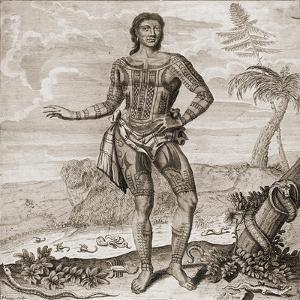 Prince Giolo from the Philippines, 1691