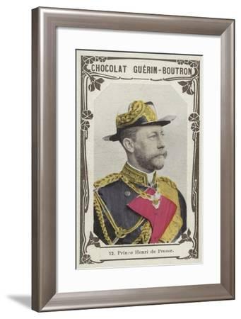 Prince Henri De Prusse--Framed Giclee Print