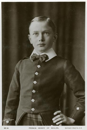 Prince Henry of Wales, C1905-C1909- Lafayette-Giclee Print
