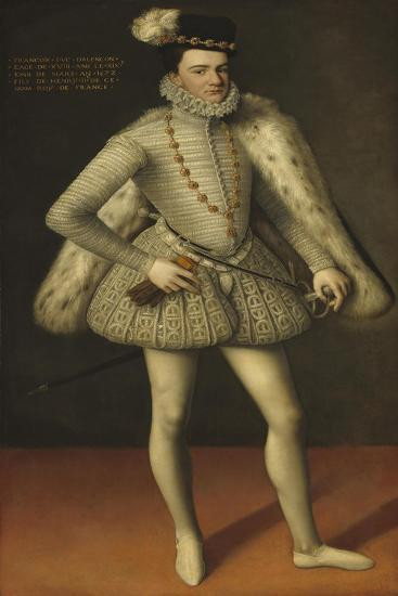 Prince Hercule-Francois, Duc d'Alencon, 1572-French School-Giclee Print