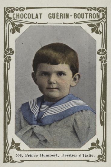 Prince Humbert, Heritier D'Italie--Giclee Print