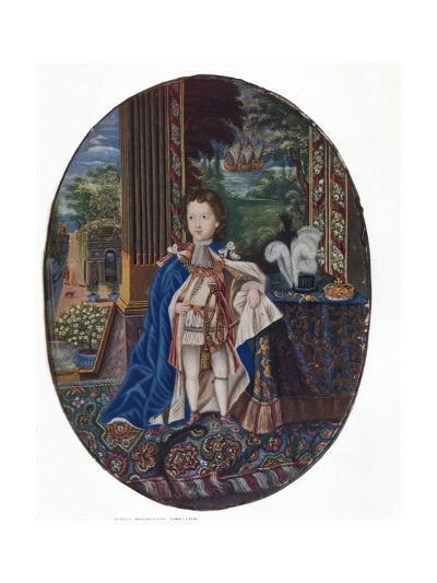 Prince James Francis Edward Stuart (1688-176), 1925-Jacques-Antoine Arlaud-Giclee Print