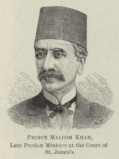 Prince Malcom Khan, Late Persian Minister at the Court of St James's--Giclee Print