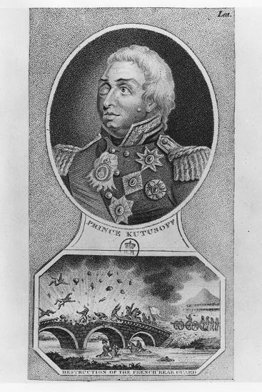 Prince Mikhail Illarionovich Golenischev-Kutuzov--Giclee Print